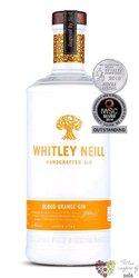 "Whitley Neill "" Blood Orange "" British flavored small batch gin 43% vol. 0.70 l"