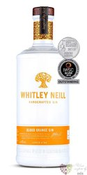 "Whitley Neill "" Blood orange "" British flavoured small batch gin 43% vol.  1.00 l"