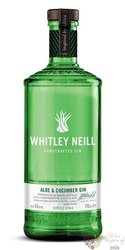 "Whitley Neill "" Aloe vera & Cucumber "" British flavoured small batch gin 43% vol.  0.70l"