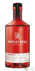 "Whitley Neill "" Raspberry "" British flavored small batch gin 43% vol. 0.70 l"