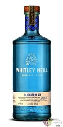 "Whitley Neill "" Blackberry "" British flavored small batch gin 43% vol.  0.05 l"