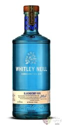 "Whitley Neill "" Blackberry "" British flavored small batch gin 43% vol.  0.70 l"