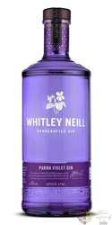 """Whitley Neill """" Parma Violet """" British flavoured small batch gin 43% vol.  0.70l"""