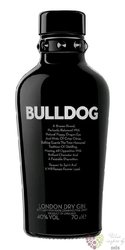 Bulldog exclusive London dry gin of Great Britain 40% vol.    0.70 l