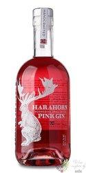"Harahorn "" Pink "" Norwegian flavored gin 38% vol.  0.50 l"