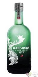 "Harahorn "" White lemon "" Norwegian flavored gin 42% vol.  0.50 l"