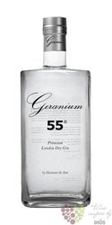 "Geranium "" 55 Overproof "" English London dry gin by Hammer & Son 55% vol.  0.70l"