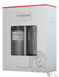 Botanist gift pack Scotish Islay dry gin by Bruichladdich 46% vol.  0.70 l