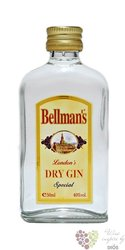 Bellman´s Special London dry gin 40% vol.     0.05 l