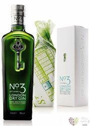 No.3 premium gift box London dry gin by Berry Bros & Rud 46% vol.   0.70 l