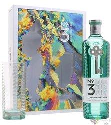 No.3 glass set premium London dry gin by Berry Bros & Rud 46% vol.  0.70 l