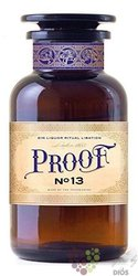 Proof no.13 flavored English gin 30% vol.  0.50 l