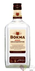 "Bokma "" Vierkant Jonge "" Dutch graan jenever 35% vol.   1.00 l"