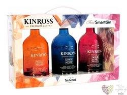 Kinross trio set Spanish gin 40% vol.    3x0.70 l
