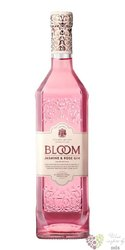 "Greenall´s "" Bloom Jasmin & Rose "" premium flavoured British gin 40% vol.  0.70l"