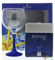 "Botanic W&H "" Ultra Premium "" glass pack luxury Spanish London dry gin 45% vol.0.70 l"