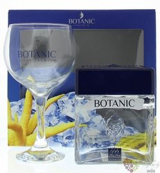 "Botanic W&H "" Premium "" glass pack luxury Spanish gin 40% vol.  0.70 l"