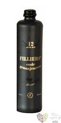 "Filliers "" Black label "" aged 12 years Belgian oude graanjenever 38% vol.   0.70 l"