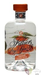 "Filliers 28 "" Tangerine seasonal edition 2014 "" copper pott still Belgian gin 43,7% vol.  0.50 l"