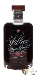 "Filliers 28 "" Sloe edition 2013 "" flavored copper pott still Belgian gin 26% vol.   0.50 l"