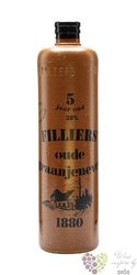 Filliers 5 years old Belgian oude graanjenever 38% vol.   1.00 l
