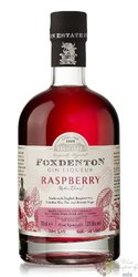 "Foxdenton "" Raspberry "" English flavored gin liqueur 21.5% vol.  0.70 l"