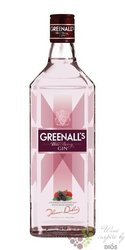 "Greenall´s "" Wild berry "" flavored British premium gin 40% vol.  0.70 l"