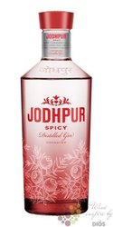 "Jodhpur "" Spicy "" Spanish London dry gin 43% vol.  0.70 l"