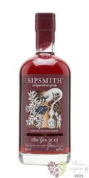 "Sipsmith 2013 "" Sloe "" ltd English flavored gin 29% vol.  0.50 l"