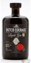 "Zuidam "" Dutch Courage 88 "" aged gin 44% vol.  0.70 l"
