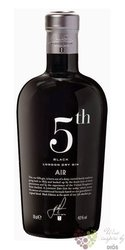 "5th "" Air Black "" flavored Spanish gin 42% vol.  0.70 l"