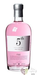"5th "" Fire Red fruits "" flavored Spanish gin 42% vol.  0.70 l"