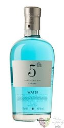 "5th "" Water Floral "" flavored Spanish gin 42% vol.  0.70 l"
