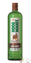 "Hooghoudt "" Dubbele "" Jonge Dutch graan jenever 35% vol.  1.00 l"