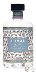 "Koval "" Dry "" Illinois gin 47% vol.  0.50 l"
