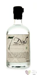 7 Dials British London dry gin 46% vol.    0.70 l