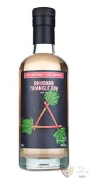 "that Boutique-y "" Rhubarb Triangle "" English gin by Atom brands 46% vol.  0.50 l"