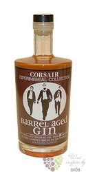 "Corsair "" Barrel aged "" aged dry American gin of Tennessee 46% vol.    0.70 l"