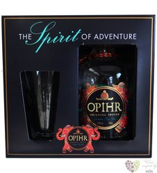 Opihr gift set British orient spice London dry gin 42.5% vol.  0.70 l