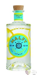 "Malfy "" con Limone "" Italian lemon infussed gin 41% vol.  0.70 l"