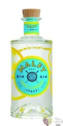 "Malfy "" con Limone "" Italian lemon infussed gin 41% vol.  1.00 l"