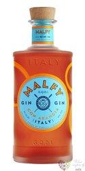 "Malfy "" con Arancia "" Italian GQDI infussed gin 41% vol.  0.05 l"