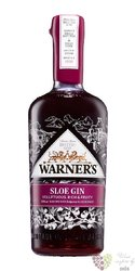 "Warner Edwards "" Sloe "" English flavored gin 30% vol.  0.70 l"