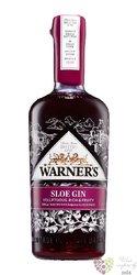 "Warner Edwards "" Sloe "" English flavored gin 30% vol.  0.70 l"