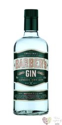Barber´s English London dry gin 40% vol.    0.70 l