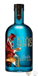 King of Soho English London dry gin 42% vol.  0.70 l