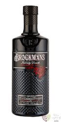 "Brockman´s "" Intensely Smooth "" premium English gin 40% vol.  0.70 l"