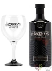 "Brockman´s "" Intensely Smooth "" gift set of premium English gin 40% vol.  0.70 l"