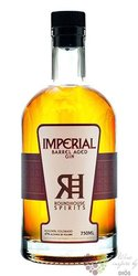 """Roundhouse """" Imperial barrel aged """" USA Colorado botanicals dry gin 47% vol.  0.70 l"""