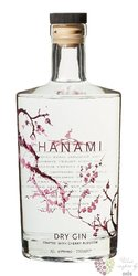 Hanami  Dutch dry japanese inspired gin 43% vol.  0.70 l